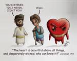 Cartoon 17 - Deceiving Heart
