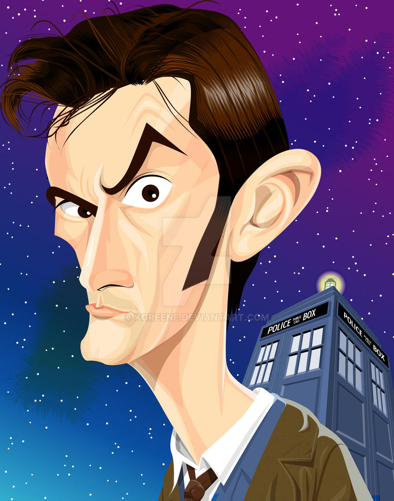The 10th Doctor by kgreene