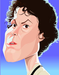 Lt. Ellen Ripley by kgreene