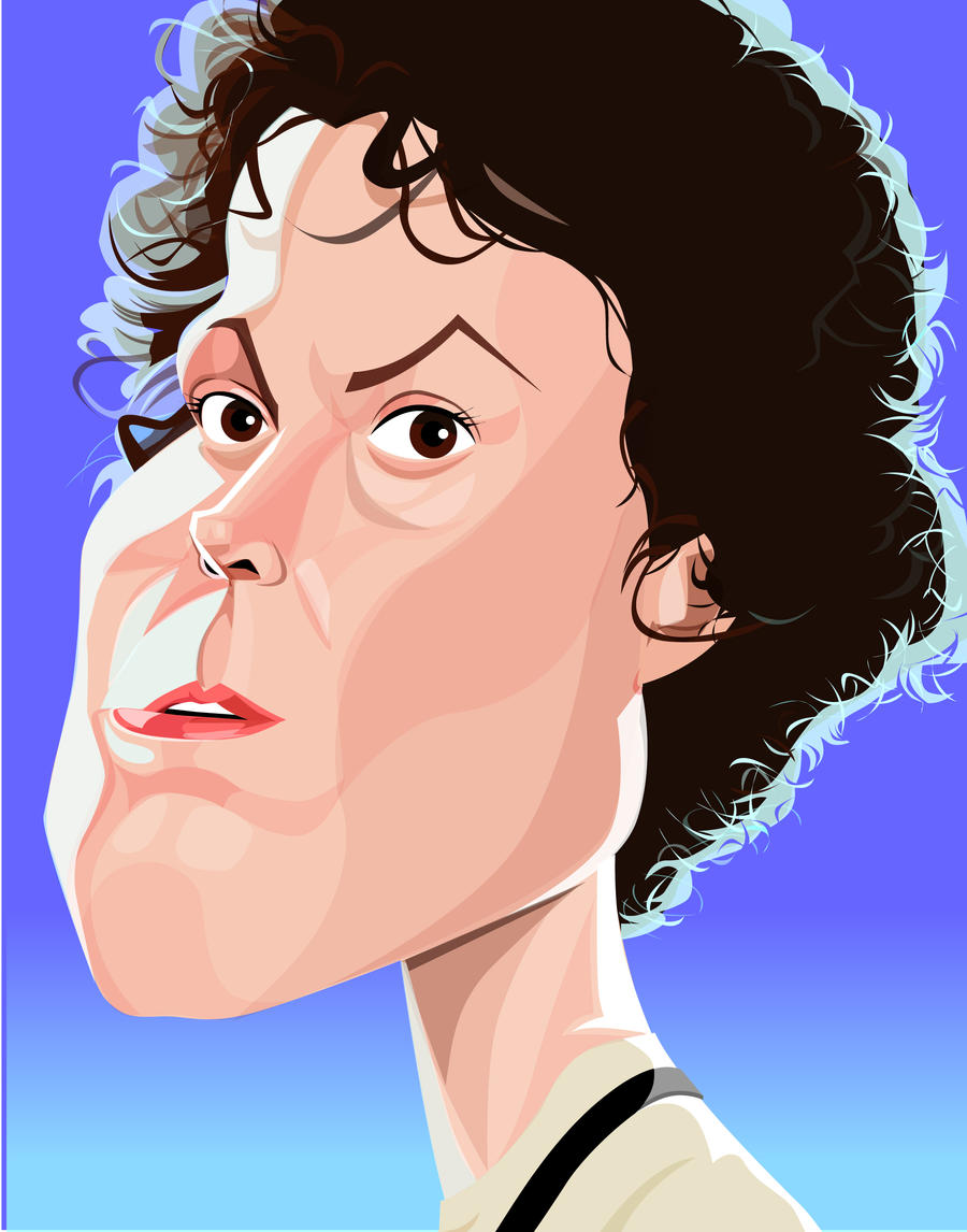 Lt. Ellen Ripley by kgreene
