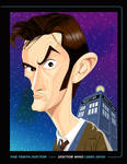 THE TENTH DOCTOR PRINT