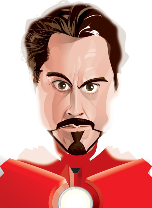 Tony Stark/Iron Man. by kgreene