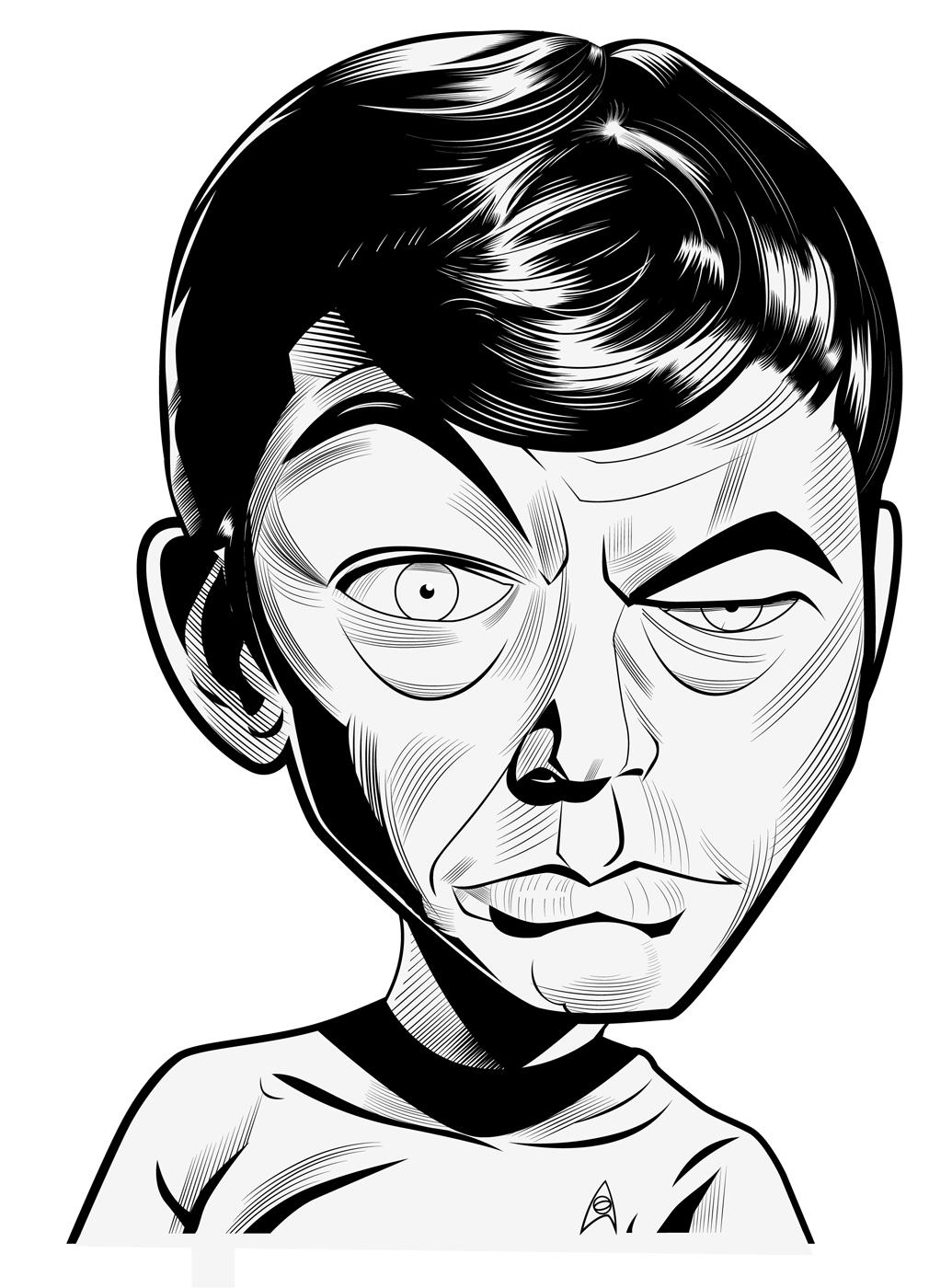 Dr. Leonard McCoy by kgreene