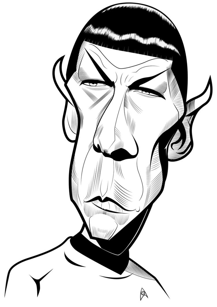 Mr. Spock by kgreene