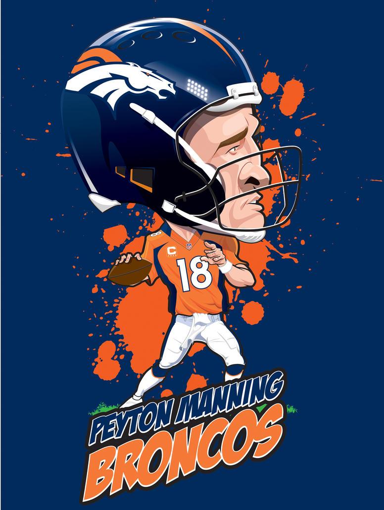 Peyton Manning by kgreene