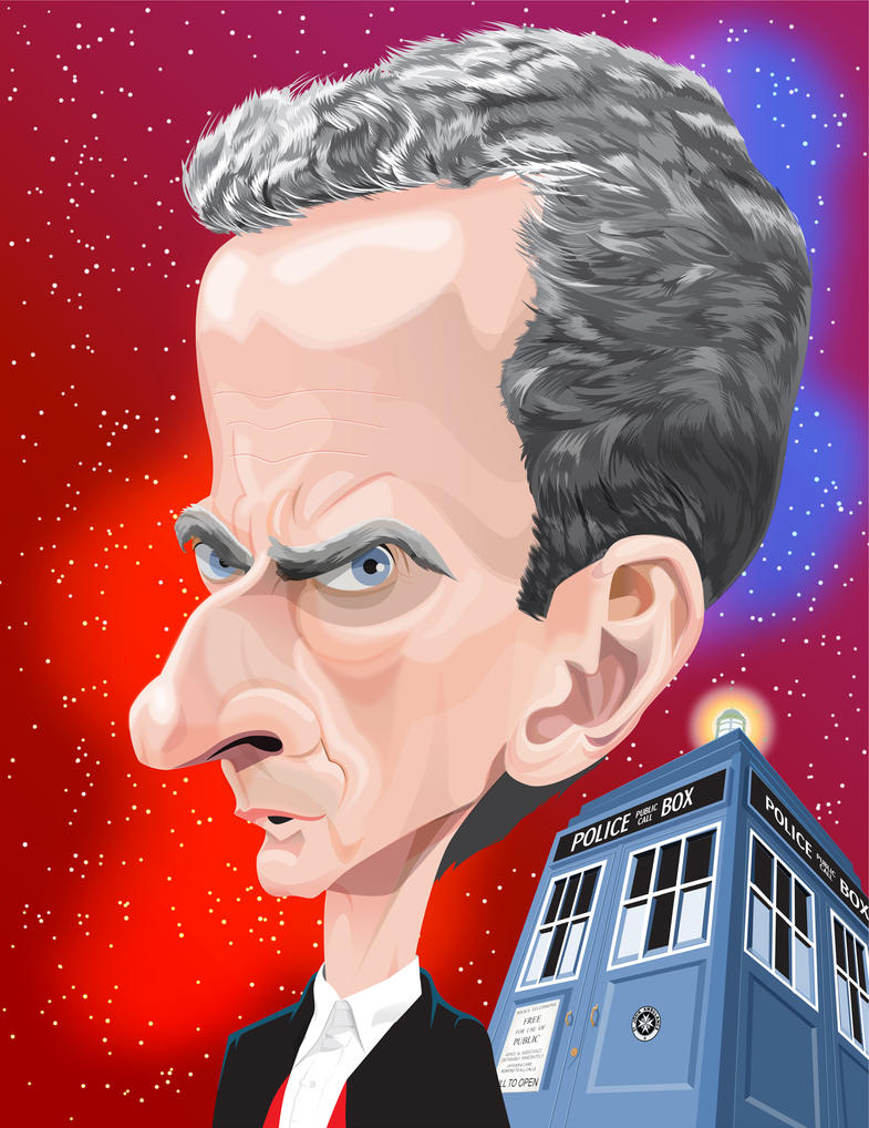 The 12th Doctor by kgreene
