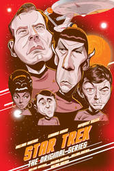 Trek Poster Unfinished by kgreene