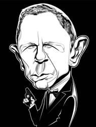 Bond Black and White by kgreene