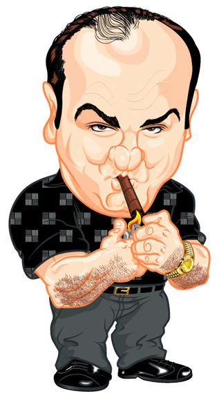 Tony Soprano by kgreene
