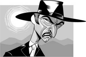 Lee Van Cleef by kgreene