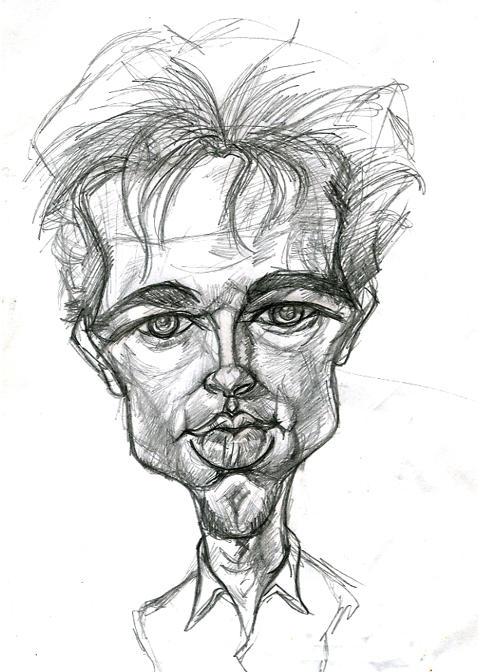 Brad Pitt sketch by kgreene