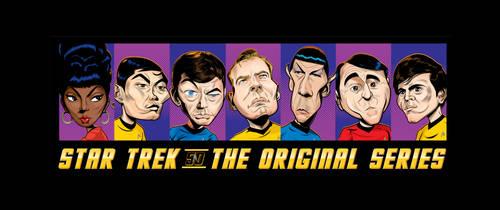 Star Trek Lineup Poster by kgreene