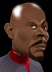 Captain Benjamin Sisko by kgreene