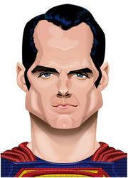Henry Cavill Superman by kgreene