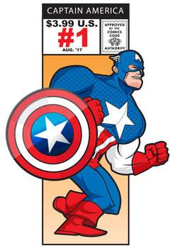 Captain America Marvel Cornerbox