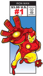 Iron Man Marvel Cornerbox by kgreene