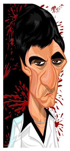 Scarface by kgreene on deviantart - Scarface cartoon wallpaper ...