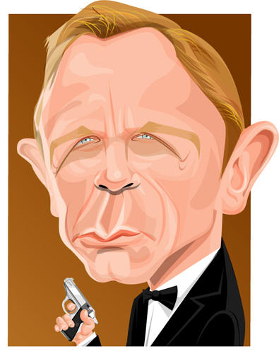 DANIEL CRAIG AS JAMES BOND by kgreene