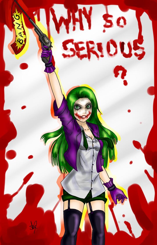 Joker - Anime Girl by sophiebc8 on DeviantArt