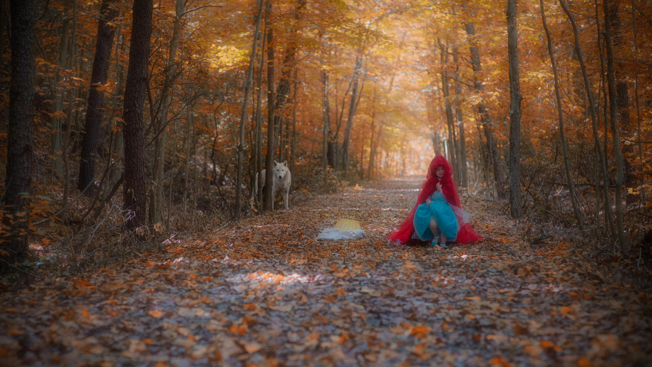 Red Riding Hood 4 by swiftmoonphoto