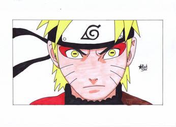 Naruto Uzumaki (Naruto) by BlackStarLGArt