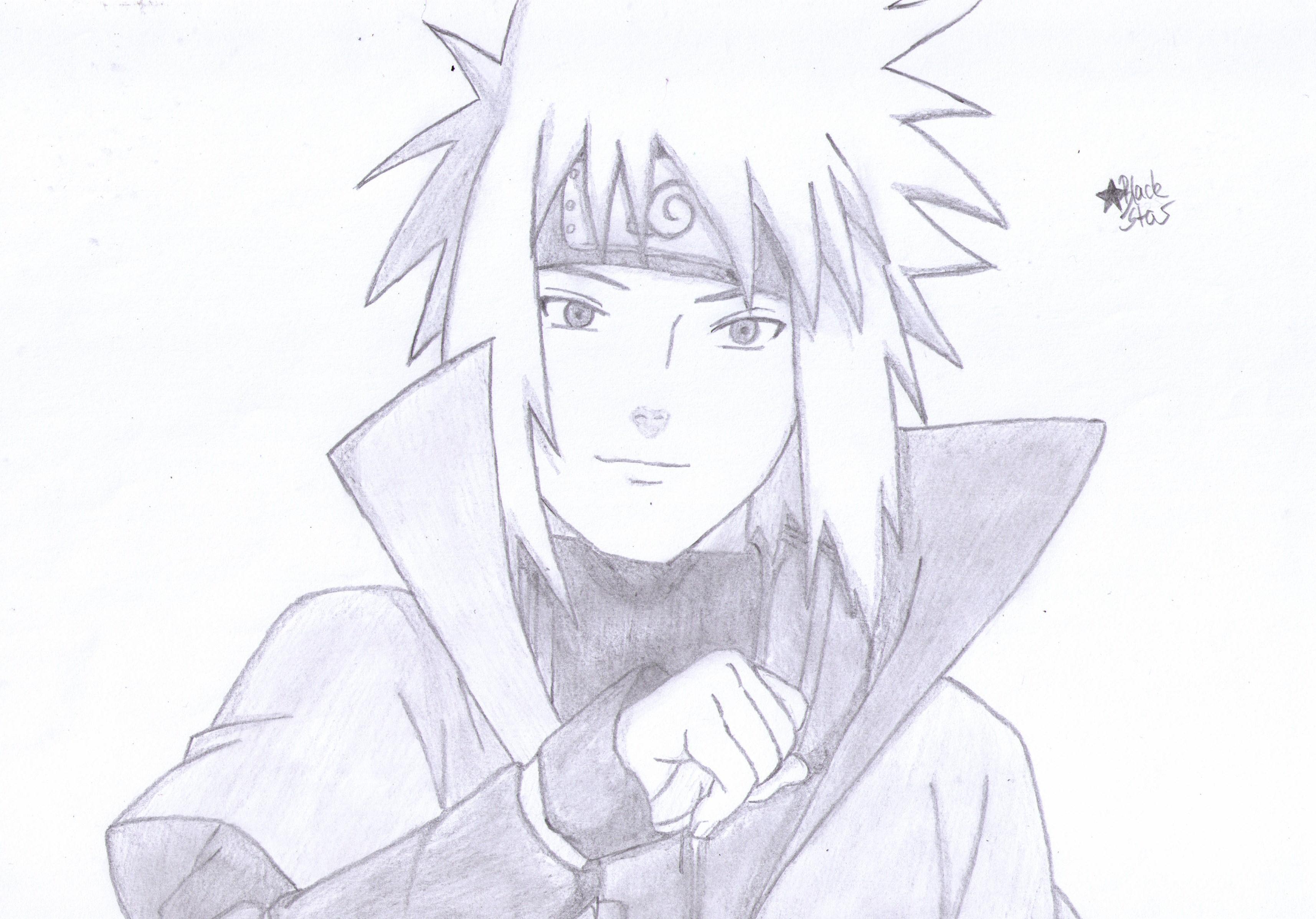 Minato Namikaze (Naruto) by BlackStarLGArt on DeviantArt