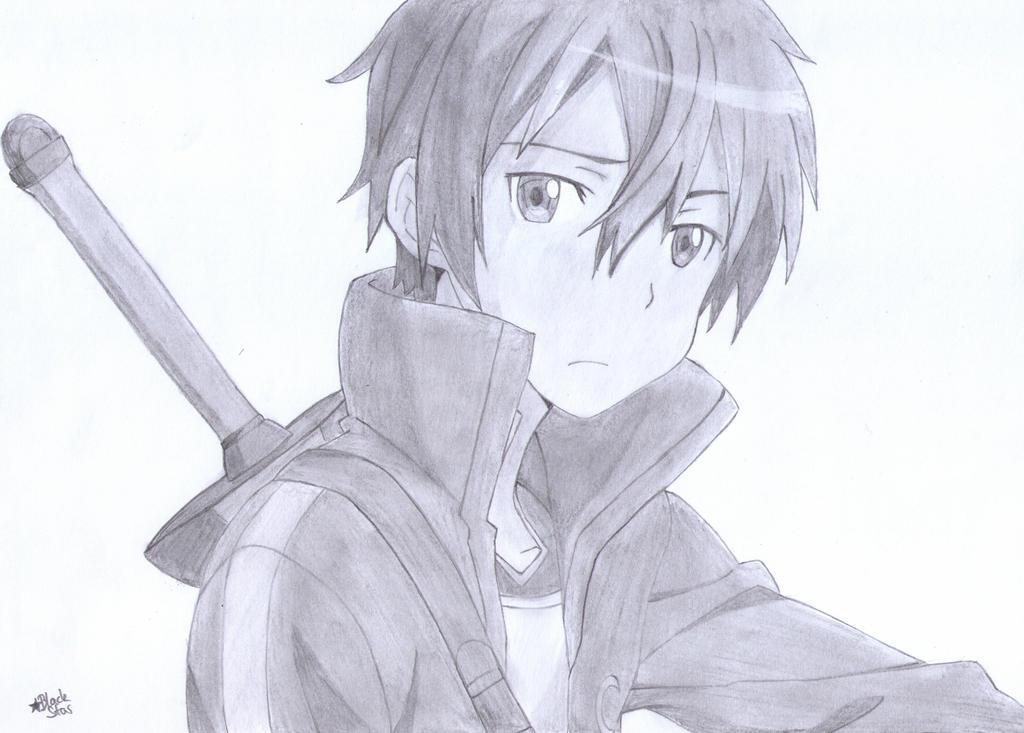 Kirigaya Kazuto Kirito Sword Art Online By