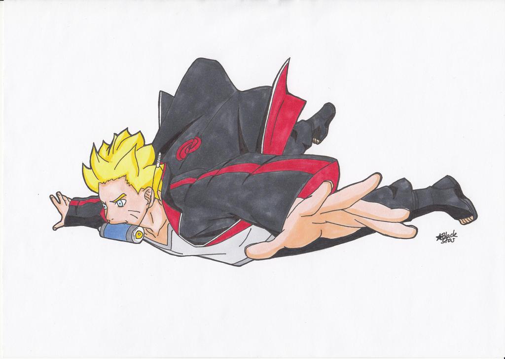 Boruto Uzumaki (Naruto) by BlackStarLGArt