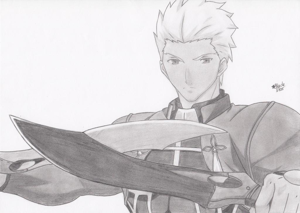Archer (Fate/stay night) by BlackStarLGArt