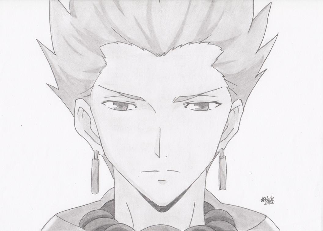 Gilgamesh (Fate/Zero) by BlackStarLGArt