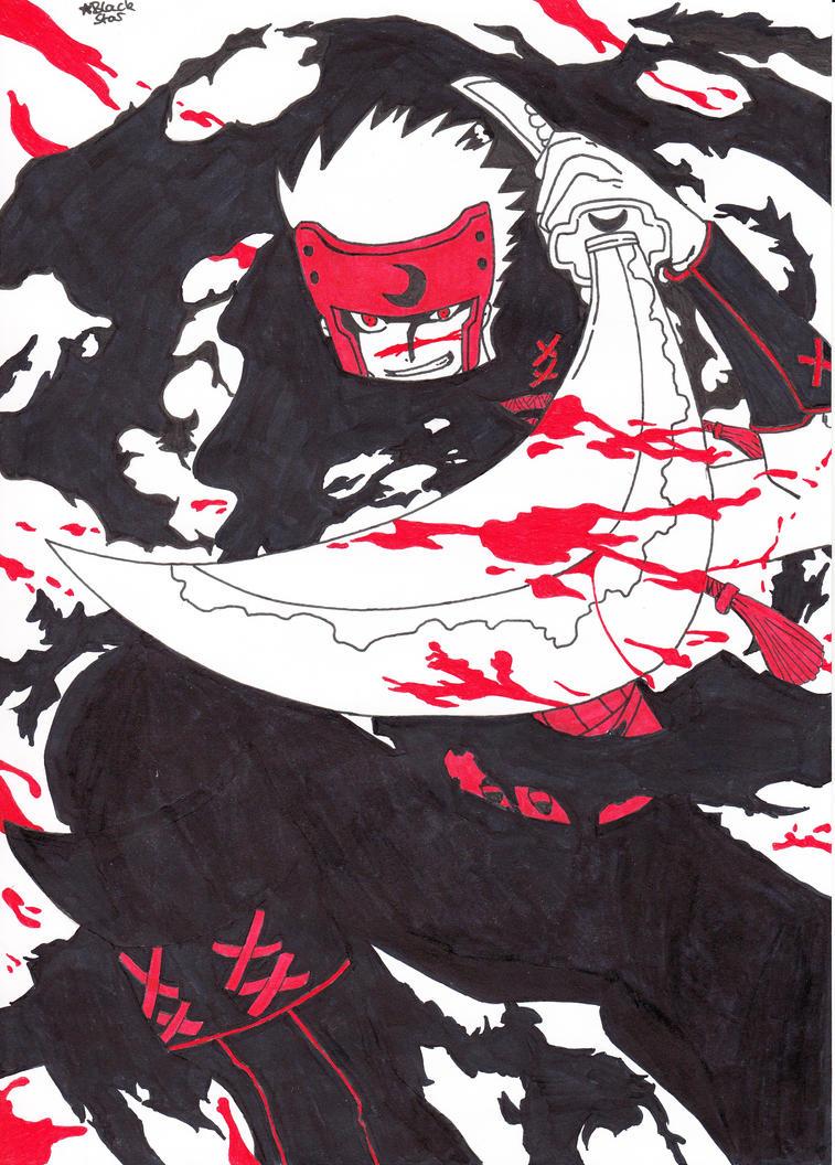 Kurogane (Tsubasa Chronicle) by BlackStarLGArt