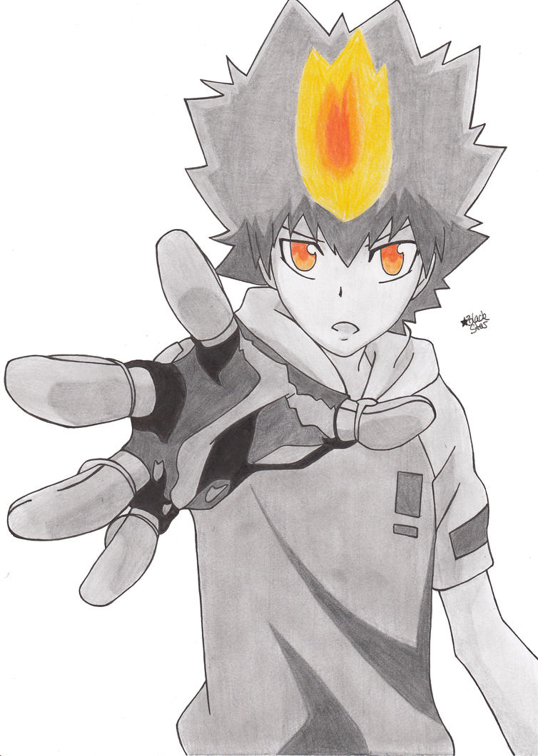 Tsunayoshi Sawada (Katekyo Hitman Reborn!) by BlackStarLGArt