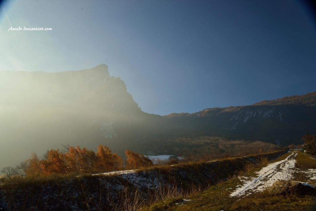 Full Light On Mountain By Aneede On DeviantART