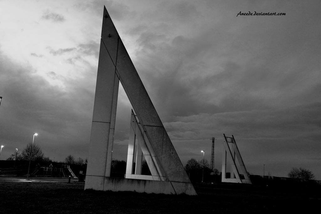 Triangular structures by aneede on deviantart for Triangular structures in architecture
