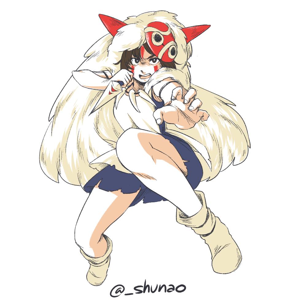 Princess Mononoke By Shunao On Deviantart