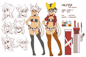 valyssa character reference by shunao