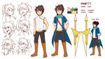 emmett character reference by shunao