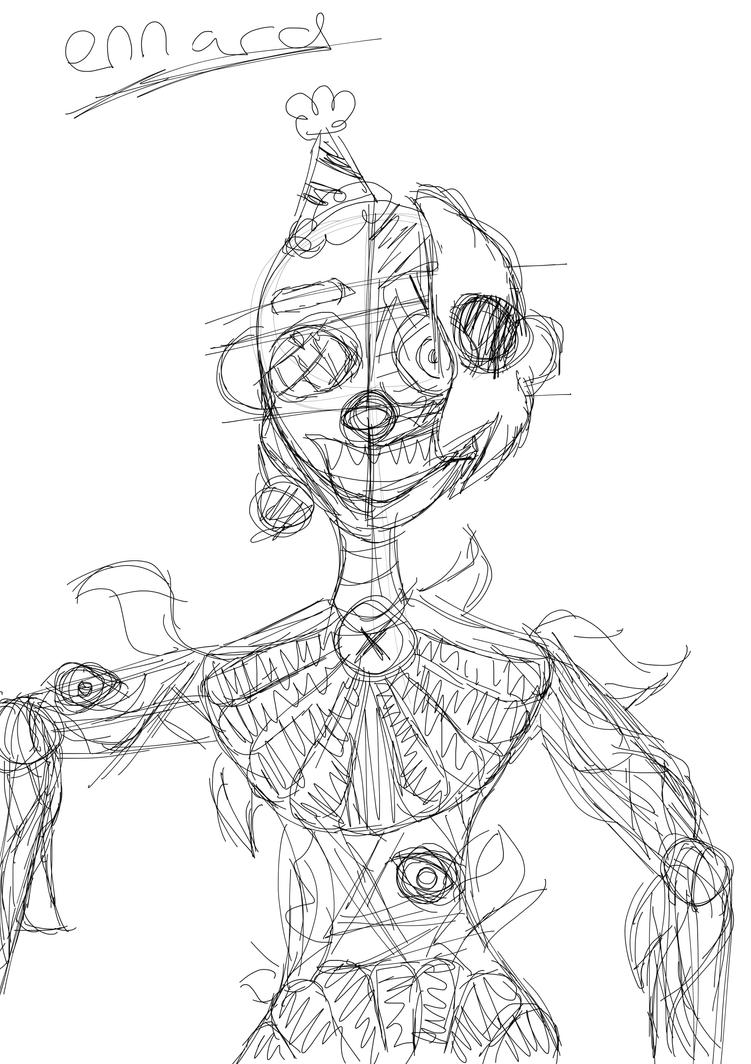 Ennard Scatch by FaZbEaR1897