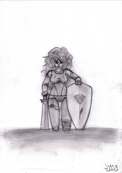 Hannah - The lonely warrioress