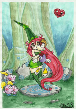Rayman and Betilla - Forest Magic