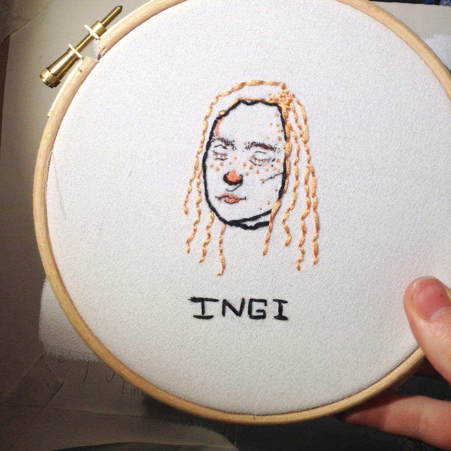 Ingibjorn Embroidery by glass1green3eyes7