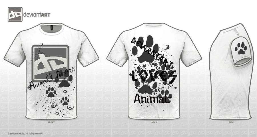 dA Loves Animals Design by Nikola-kun