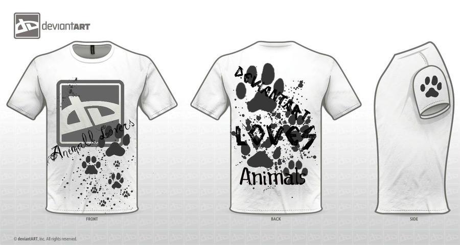 dA Loves Animals Design by Nikola-kun