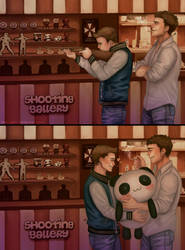 Shooting gallery : Chris x Piers by Gatokumn