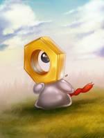 Pokemon: Meltan by Gatokumn