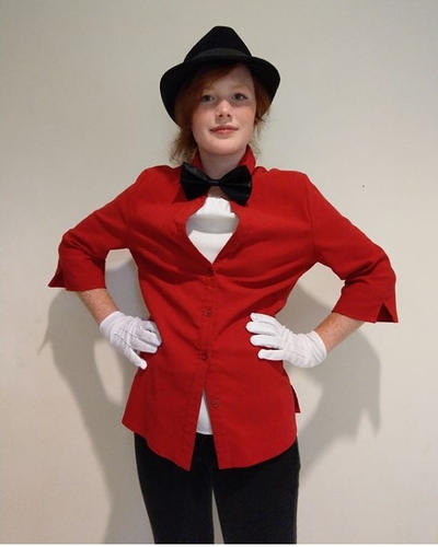 My Brendon urie cosplay for a party  by IssyInked