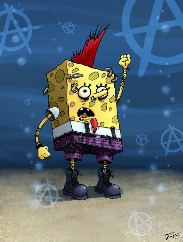 Sponge Bob by TattoDurden