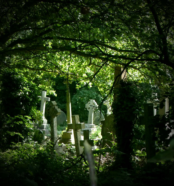 Highgate Cemetery by Weasley-Detectives
