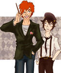HP: Elementary my dear Weasley