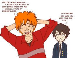 Fred Weasley x Nox: Flirting by Weasley-Detectives